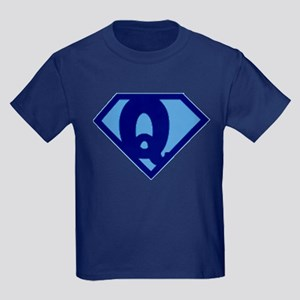 Super Hero Letter Q T-Shirt